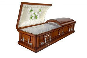 Full Glass Cremation Casket
