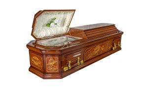 Lotus Cremation Casket